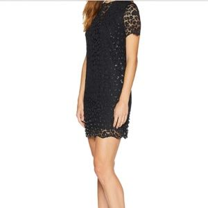 Juicy Couture Lace Embellished Shift Dress Size 6